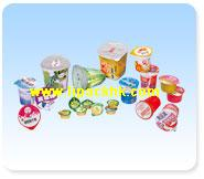 Foil Lids for Dairy packaging