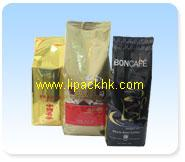 Coffee Beans and Powder Bag (Degassing Valve)