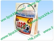 Laundry Detergent in Square Bottom bag with Handle